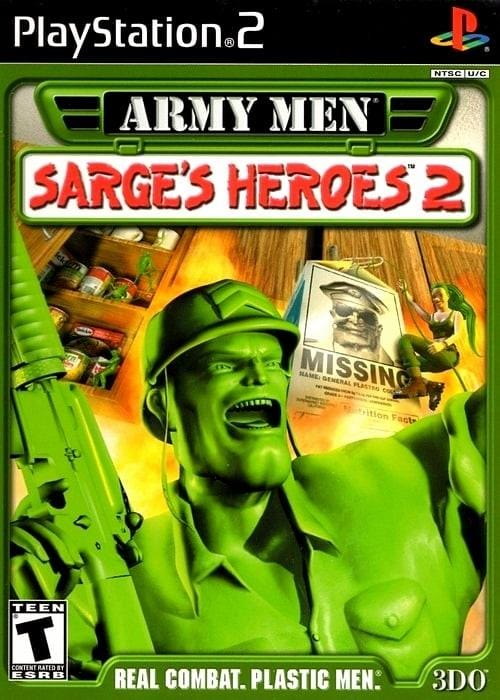 Army Men Sarge's Heroes 2 Sony PlayStation 2 Game - Gandorion Games