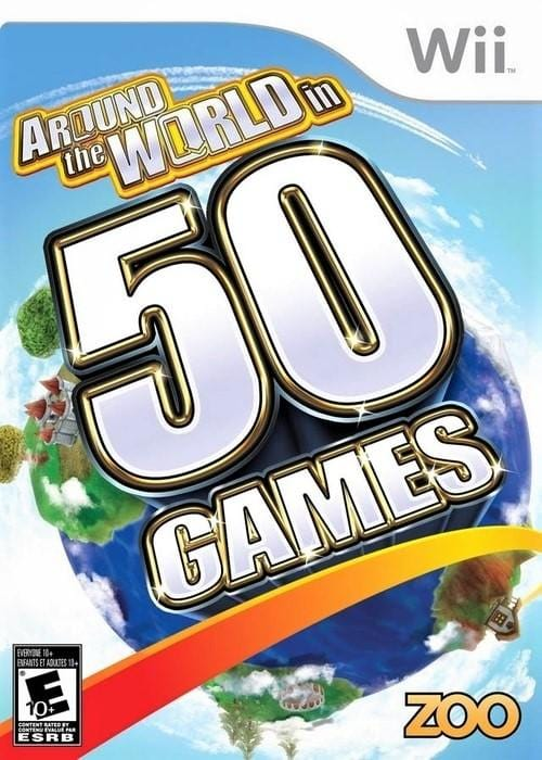 Around the World In 50 Games Nintendo Wii Game - Gandorion Games