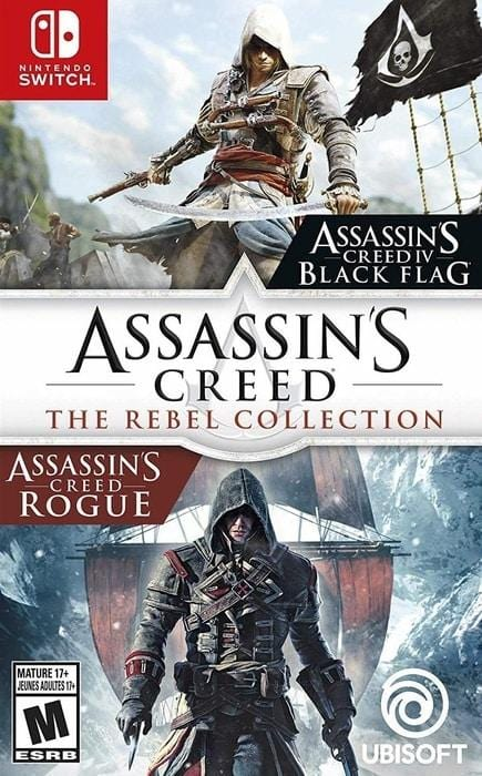 Assassin's Creed The Rebel Collection Nintendo Switch Gandorion Games
