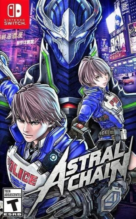Astral Chain Nintendo Switch Game - Gandorion Games