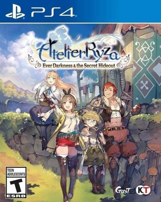 Atelier Ryza Ever Darkness & The Secret Hideout Sony PlayStation 4 - Gandorion Games