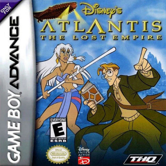 Atlantis: The Lost Empire Game Boy Advance - Gandorion Games