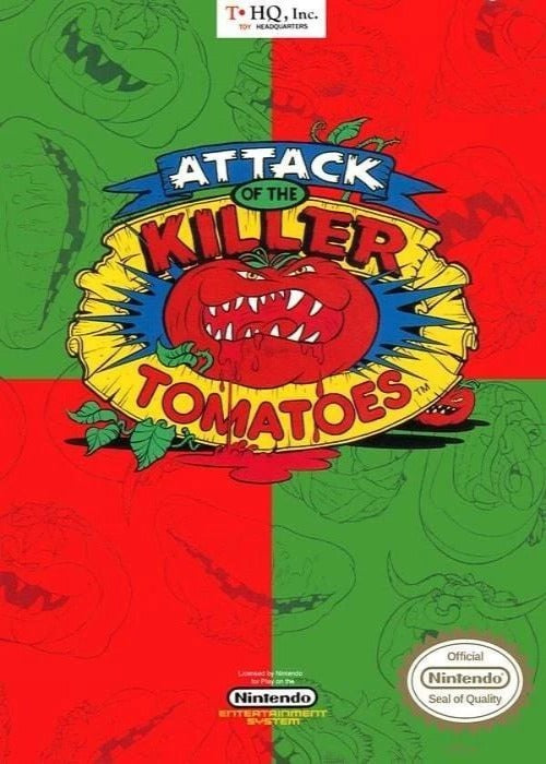 Attack of the Killer Tomatoes Nintendo NES - Gandorion Games