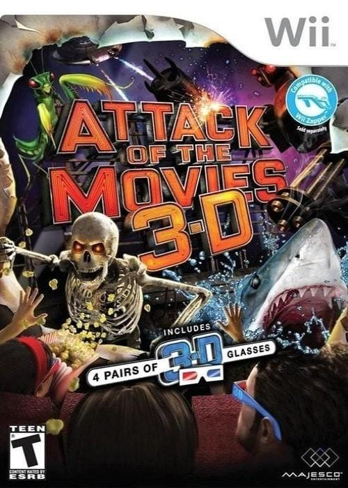 Attack of the Movies 3D Nintendo Wii Game - Gandorion Games