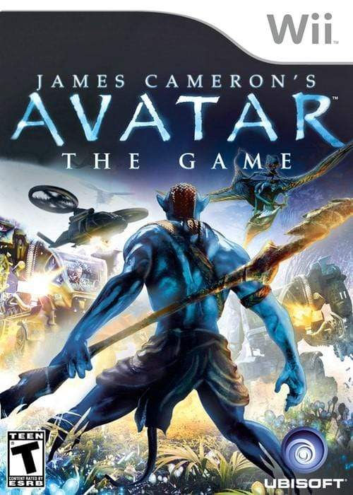 Avatar The Game Nintendo Wii Game - Gandorion Games