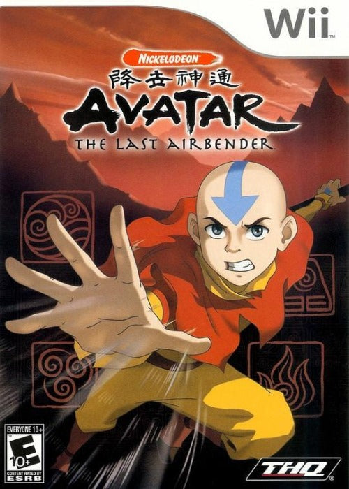 Avatar The Last Airbender Nintendo Wii Game - Gandorion Games