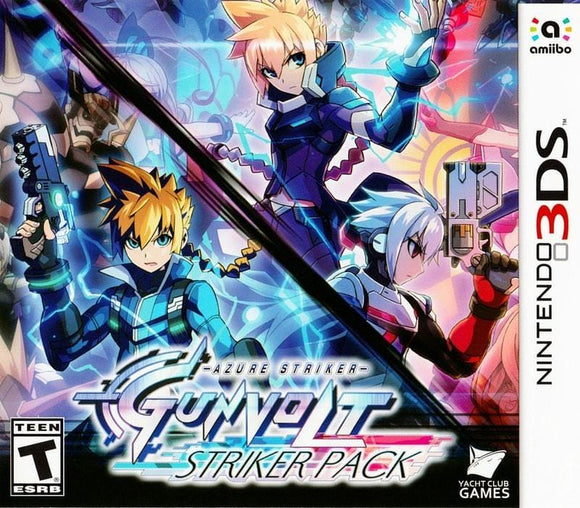 Azure Striker Gunvolt Striker Pack Nintendo 3DS - Gandorion Games