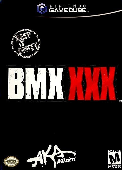 BMX XXX Nintendo GameCube Game - Gandorion Games
