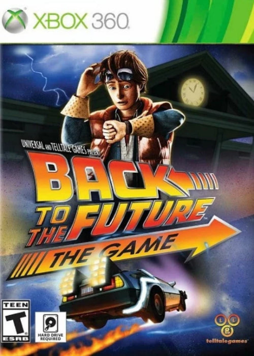 Back to the Future The Game 30th Anniversary Edition Xbox 360 - Gandorion Games