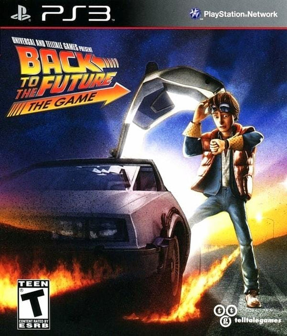 Back to the Future The Game Sony PlayStation 3 - Gandorion Games