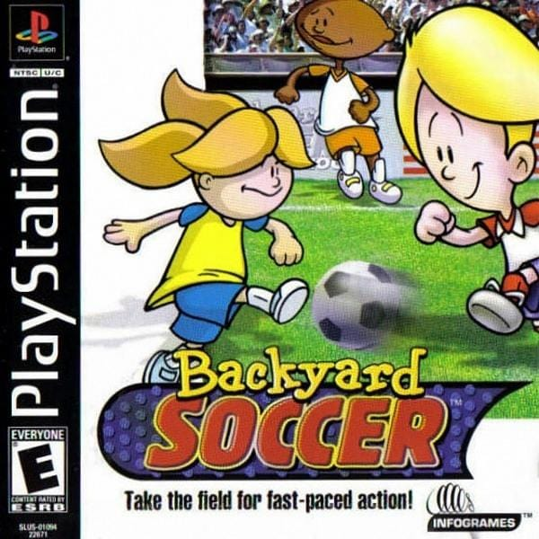 Backyard Soccer PlayStation 1 - Gandorion Games