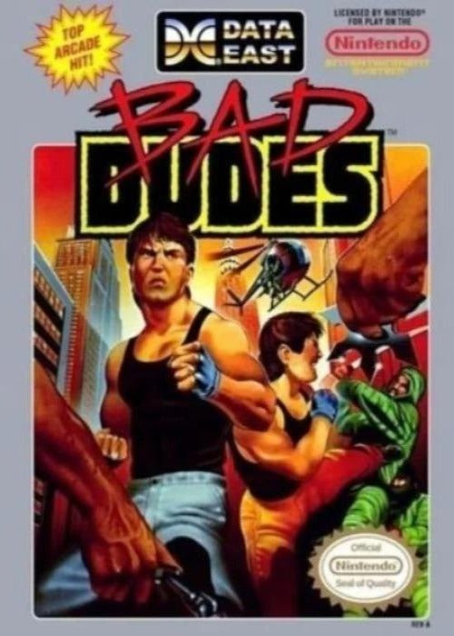 Bad Dudes Nintendo NES Game - Gandorion Games
