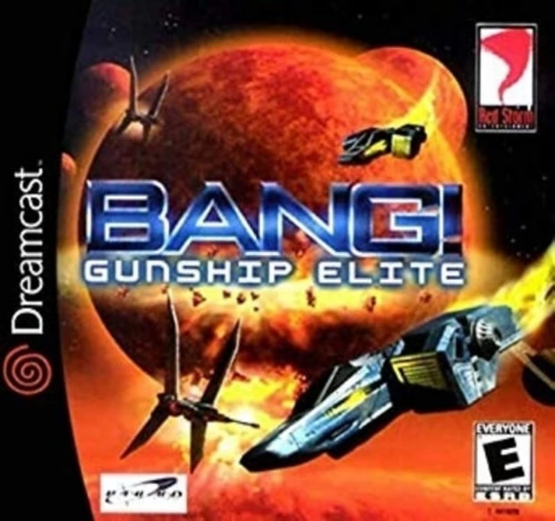 Bang Gunship Elite Sega Dreamcast - Gandorion Games