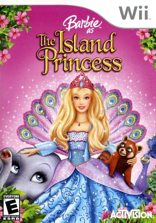 Barbie The Island Princess Nintendo Wii - Gandorion Games
