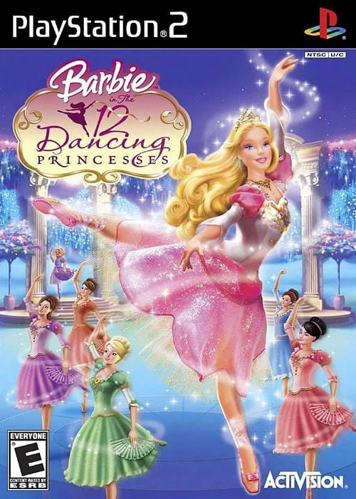 Barbie in The 12 Dancing Princesses Sony PlayStation 2 - Gandorion Games