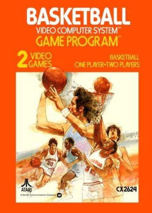 Basketball Atari 2600 Game - Gandorion Games