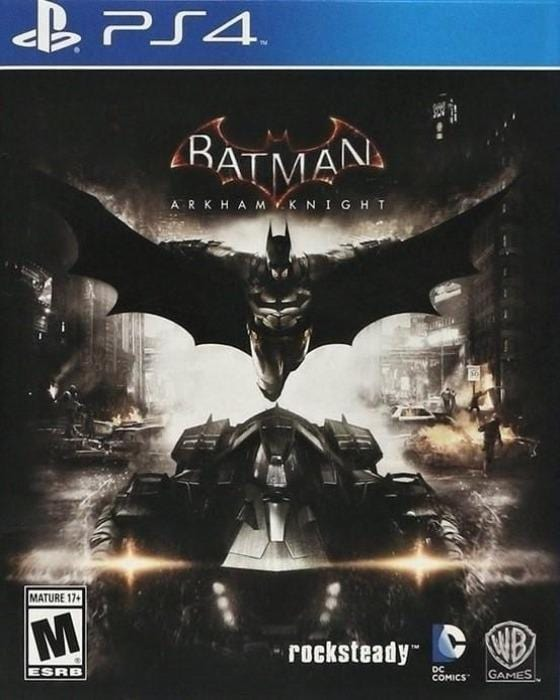 Batman Arkham Knight Sony PlayStation 4 Game - Gandorion Games