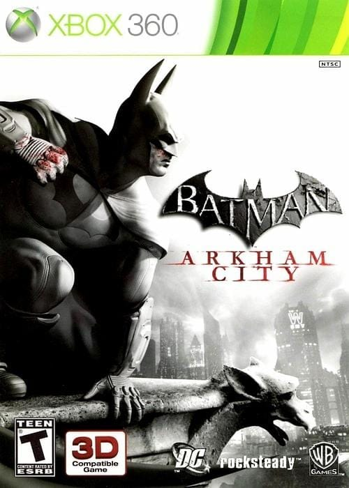 Batman Arkham City Xbox 360 - Gandorion Games