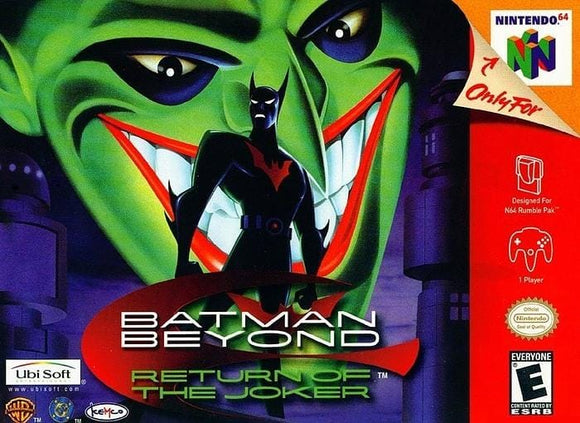 Batman Beyond Return of the Joker Nintendo 64 - Gandorion Games