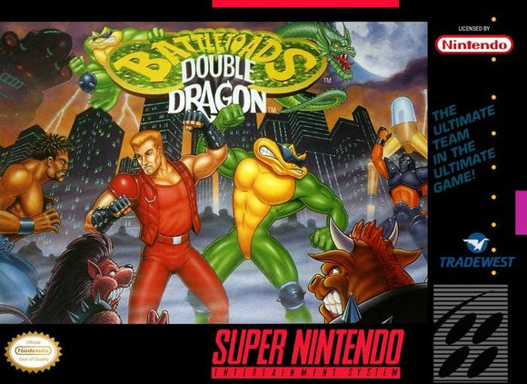 Battletoads and Double Dragon The Ultimate Team Super Nintendo SNES - Gandorion Games