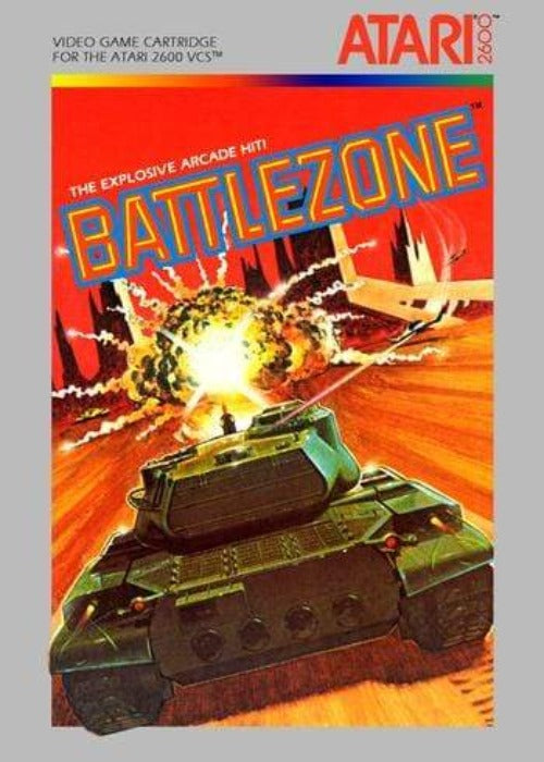 Battlezone Atari 2600 Game - Gandorion Games