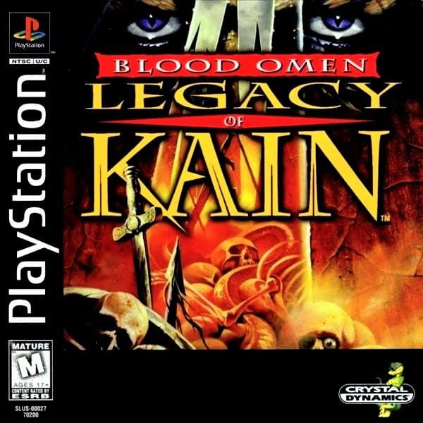 Blood Omen Legacy of Kain Sony PlayStation - Gandorion Games