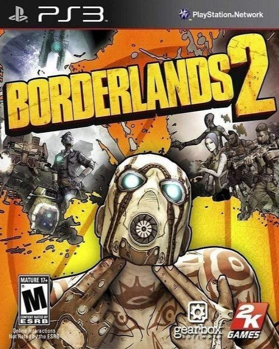 Borderlands 2 Sony PlayStation 3 Game - Gandorion Games