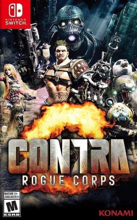 CONTRA Rogue Corps Nintendo Switch - Gandorion Games
