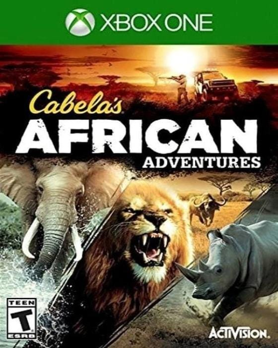Cabela's African Adventure Microsoft Xbox One - Gandorion Games