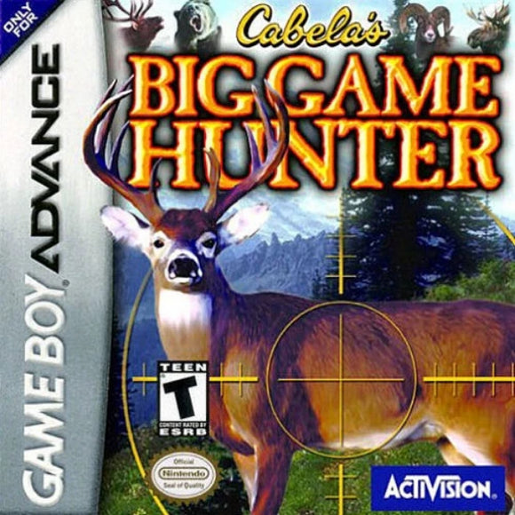 Cabela's Big Game Hunter Game Boy Advance - Gandorion Games