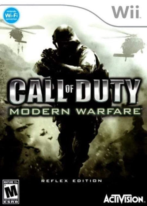 Call of Duty Modern Warfare Reflex Nintendo Wii - Gandorion Games