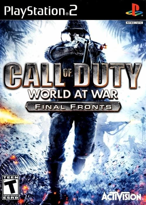 Call of Duty World at War Final Fronts Sony PlayStation 2 Game - Gandorion Games