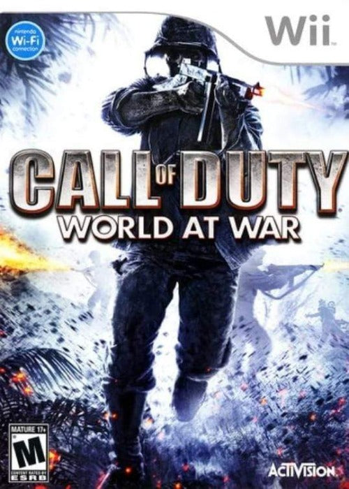 Call of Duty World at War Nintendo Wii Game - Gandorion Games