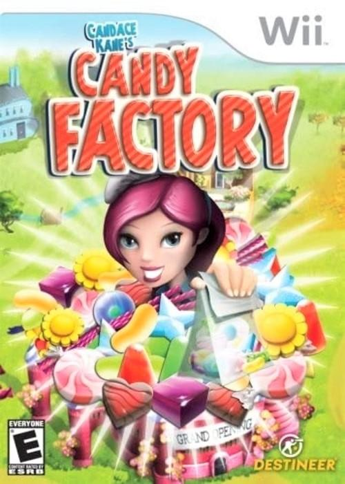Candace Kane's Candy Factory Nintendo Wii Game - Gandorion Games