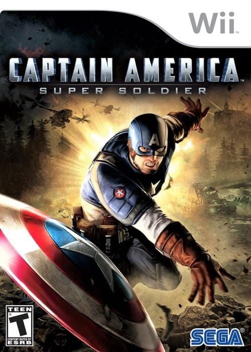 Captain America Super Soldier Nintendo Wii Game - Gandorion Games