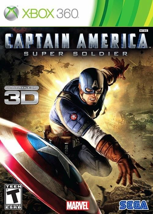 Captain America Super Soldier Xbox 360 - Gandorion Games