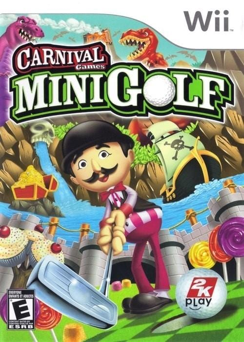 Carnival Games Mini Golf Nintendo Wii Game - Gandorion Games