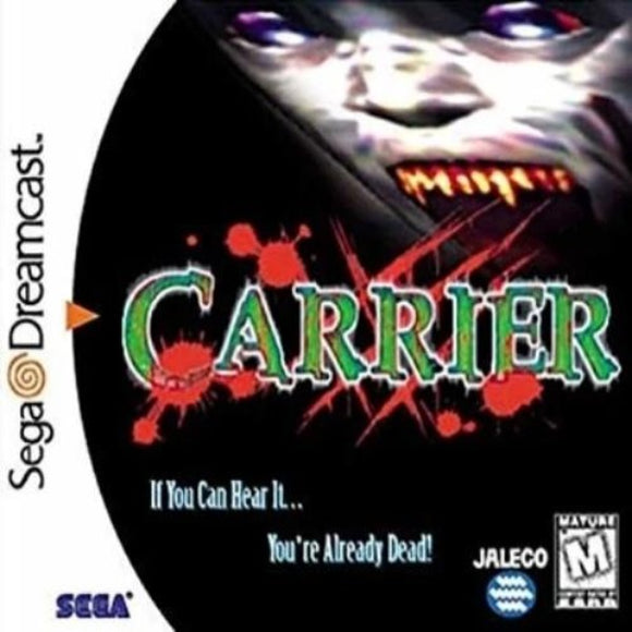 Carrier Sega Dreamcast - Gandorion Games
