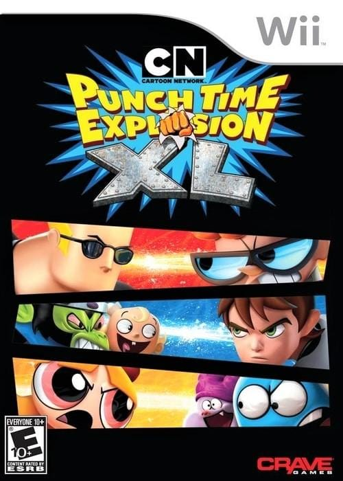 Cartoon Network Punch Time Explosion XL Nintendo Wii Game - Gandorion Games