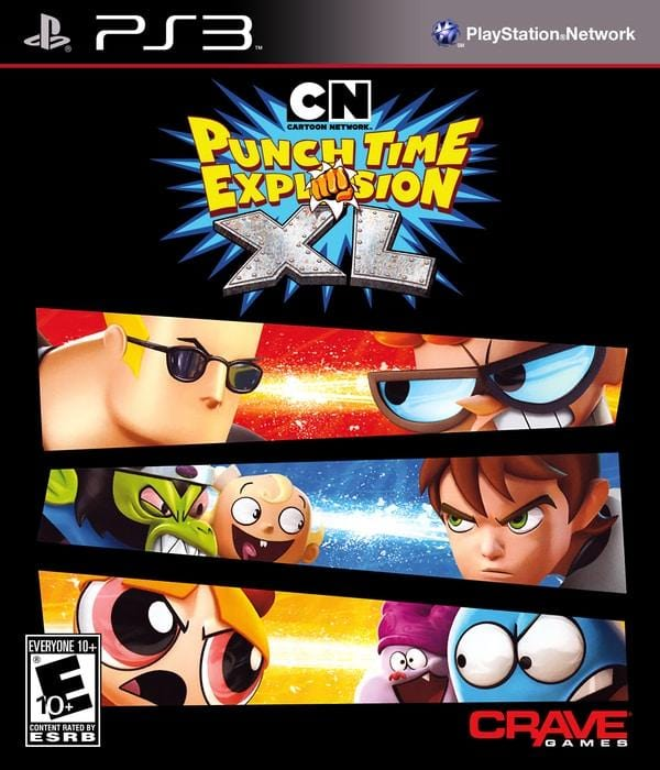 Cartoon Network: Punch Time Explosion XL PlayStation 3 Game PS3 - Gandorion Games