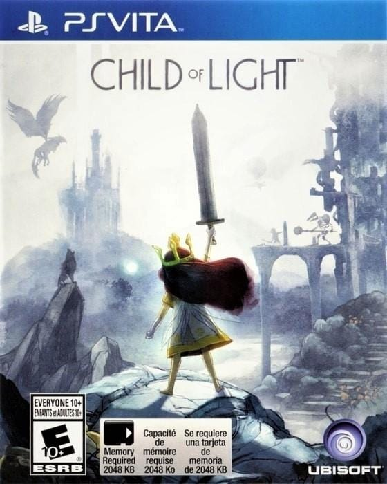 Child of Light Sony PlayStation Vita - Gandorion Games