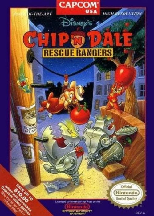 Chip and Dale Rescue Rangers Nintendo NES Game - Gandorion Games