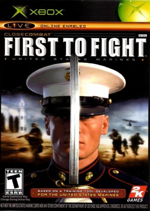 Close Combat First to Fight Microsoft Xbox Game