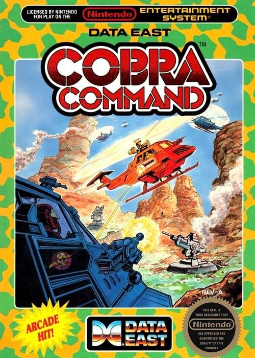 Cobra Command Nintendo NES Game - Gandorion Games