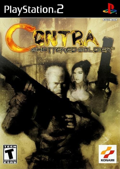 Contra Shattered Soldier Sony PlayStation 2 - Gandorion Games