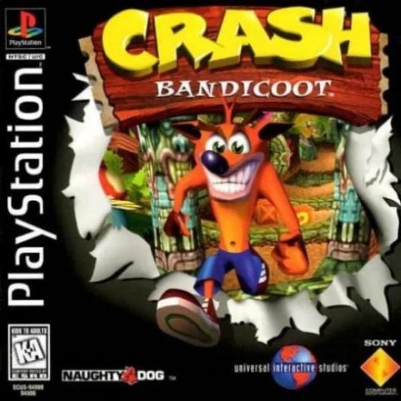 Crash Bandicoot Sony Playstation - Gandorion Games