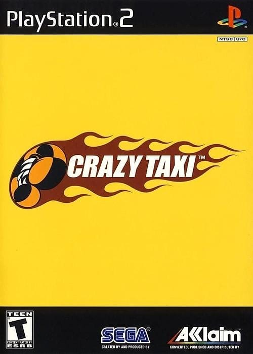 Crazy Taxi Sony PlayStation 2 Game PS2 - Gandorion Games