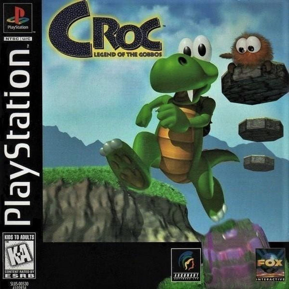 Croc: Legend of the Gobbos - Sony PlayStation