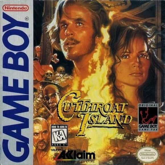 Cutthroat Island Nintendo Game Boy - Gandorion Games
