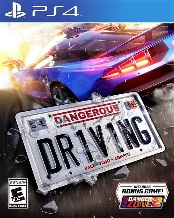 Dangerous Driving Sony PlayStation 4 - Gandorion Games